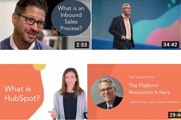 HubSpot Youtube Videos