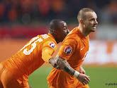 Sneijder entre dans l'histoire des Pays-Bas