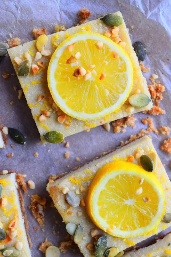 Lemon & Almond Slices Recipe