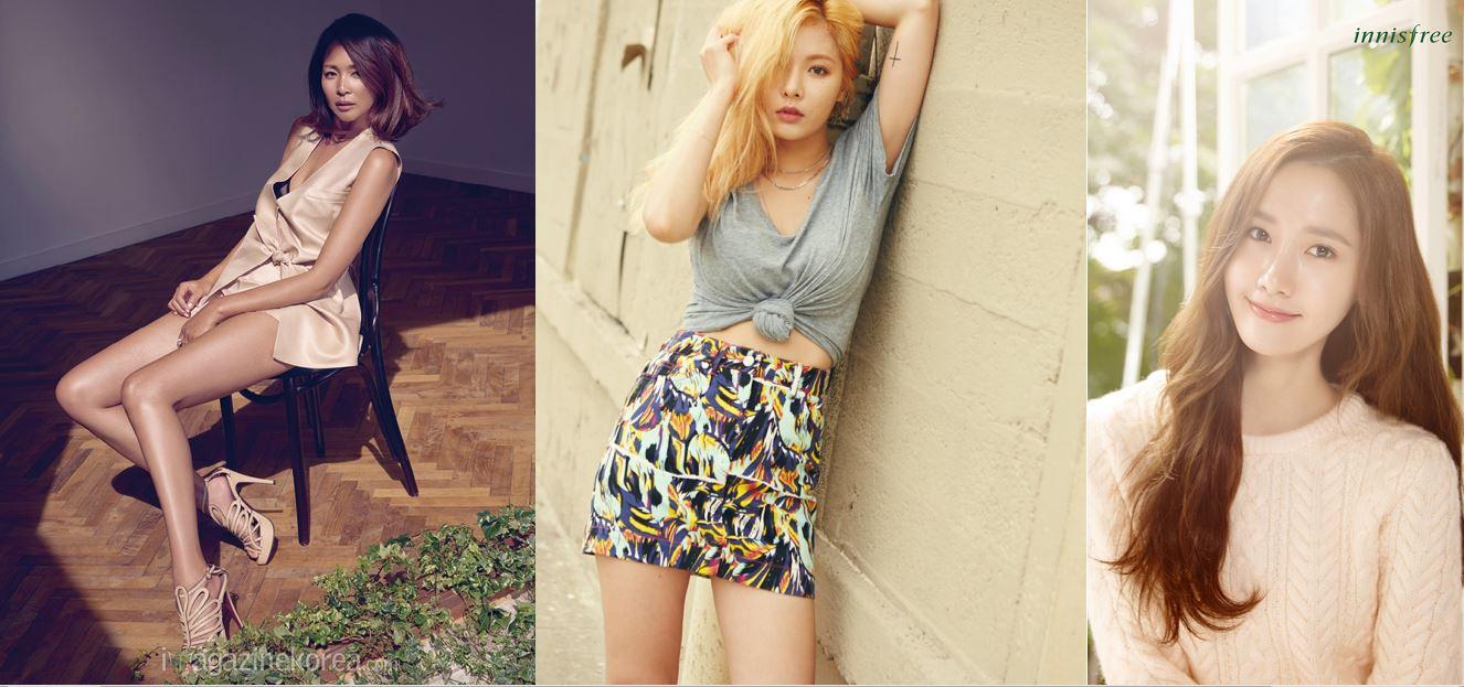 attractive korean women