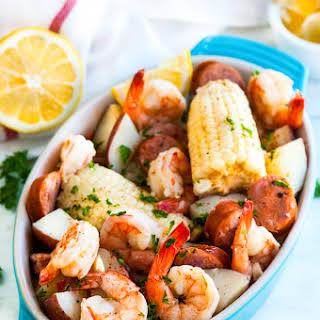 One Pot Creole Shrimp Boil.
