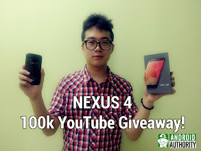 Photo: our Nexus 4 100k YouTube Giveaway Winner!