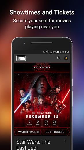 Screenshot 3 for IMDb's Android app'