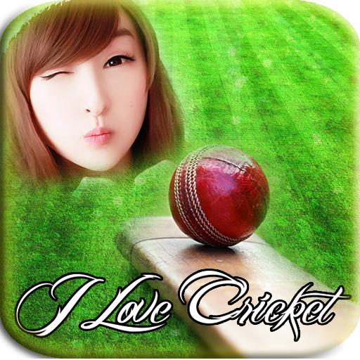 I Love Cricket Photo Editor