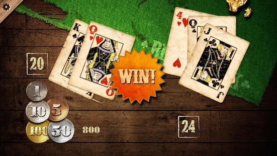 Gold Rush Blackjack- screenshot thumbnail