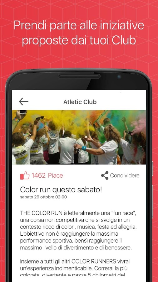 SportClubby- screenshot