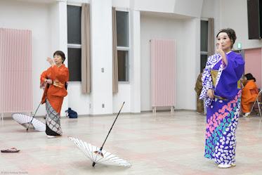 歌謡舞踊サークル・永和会(北竜町)練習風景