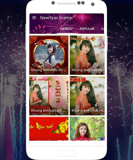 New year frame 2018 Pro for PC
