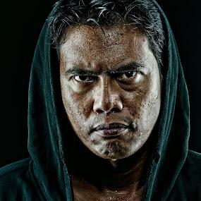 Ganaszter In The Hood by Mata Arif - People Portraits of Men