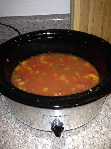 Crockpot Turkey Stew