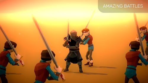 Screenshot 1 A Way To Slay - Bloody Fight And Turn-Based Puzzle 2.08 APK MOD