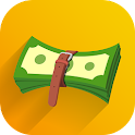 Expense manager, money tracker icon