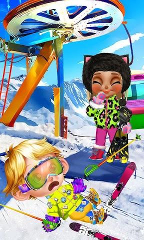 android Crazy Winter Trip - Ski Resort Screenshot 0