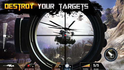 Sniper Attacku2013FPS Mission Shooting Games 2020 apkpoly screenshots 4