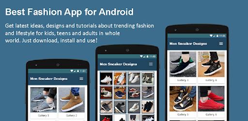 Trendy Men Sneakers Design Fashion Style Offline - Apps on