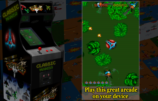 Retro Time Pilot Arcade apkpoly screenshots 10