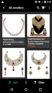 Jewellery Online Shopping App Android Apps On Google Play