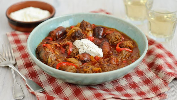 Sausage And Chorizo Goulash
