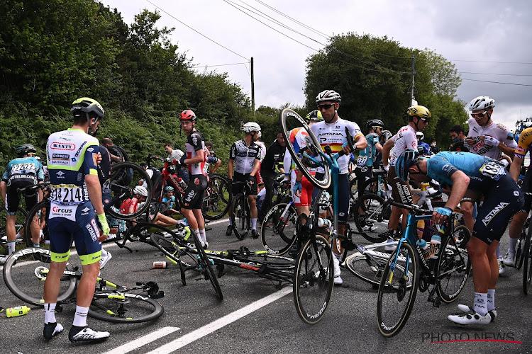 Toeschouwer die voor grote valpartij zorgde in Tour de France met bordje, zal donderdag voor de rechter verschijnen