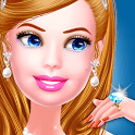 Wedding games for girls - Dress up & Makeup Salon icon