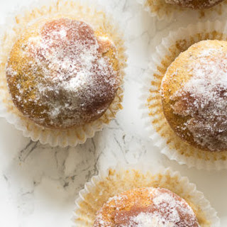 Cinnamon And Sugar Donut Muffins.