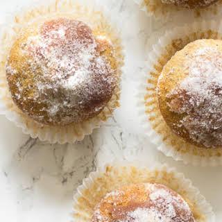 Cinnamon And Sugar Donut Muffins.