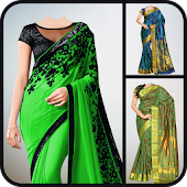 Women Saree Photo Suit