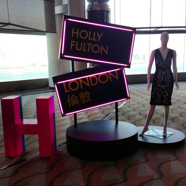 Photo: Fashion Extravaganza display for Holly Fulton