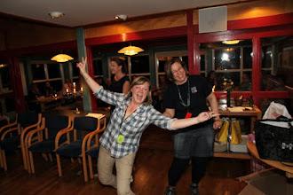 Photo: ....resulterade i Gina - en väldigt glad vinnare med superpriser från danska: by Slavi