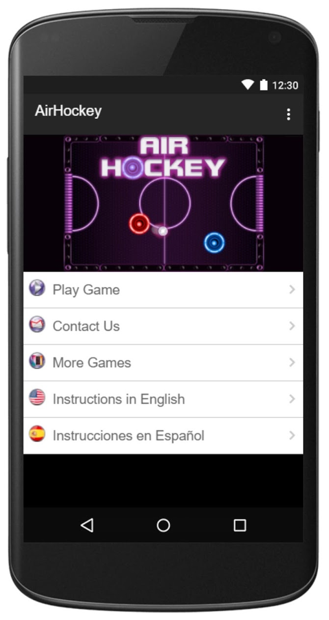 Air Hockey -Fast Paced Table-Sport Simulation Game Android 1