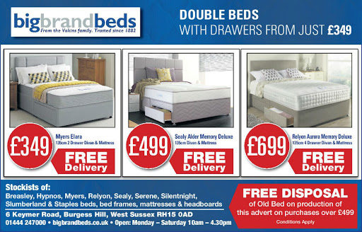 Double Beds With Drawers From Just 349
