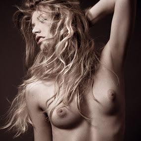 L U S T  by Ryan Bater - Nudes & Boudoir Artistic Nude ( fashion, blonde, lighting, art, beautiful, artistic, fine art, beauty, motion, nudes, shadows )