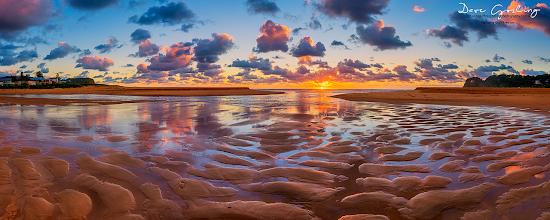 Photo: Sand reflections at Avoca #oceanart  #landscapephotography  #seascapephotography  #sunrisephotography  #riseabove  #sunrisephotos