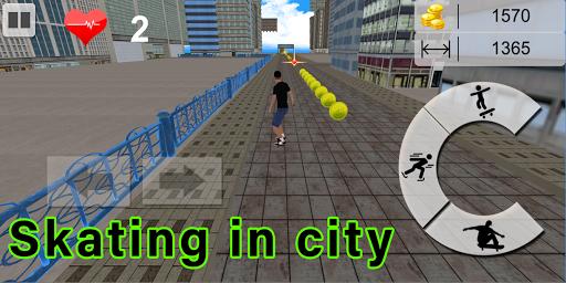 Code Triche Flip Skater Game,Pro Skateboard Endles 3D game mod apk screenshots 5