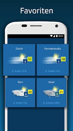 SRF Meteo - Wetter Prognose Schweiz  screenshots 4