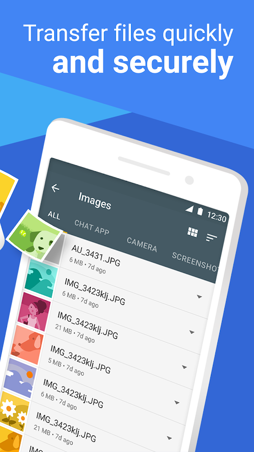 Files Go by Google: Clean up space on your phone – snímek obrazovky