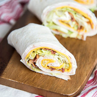 Turkey Bacon Ranch Wraps Recipe