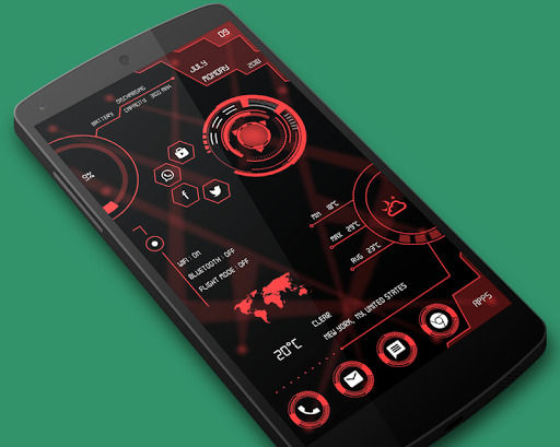 Hi-tech Circuit Launcher 2019 - Hitech Theme 4.0 androidtablet.us 1