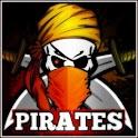 Treasure Pirate Shark Ship icon