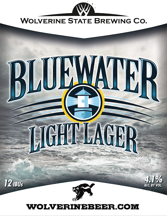 Logo of Wolverine State Bluewater Light Lager