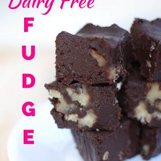 Dairy Free Fudge {Made with Coconut Milk} Recipe