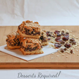 Oatmeal Cherry Chocolate Bars