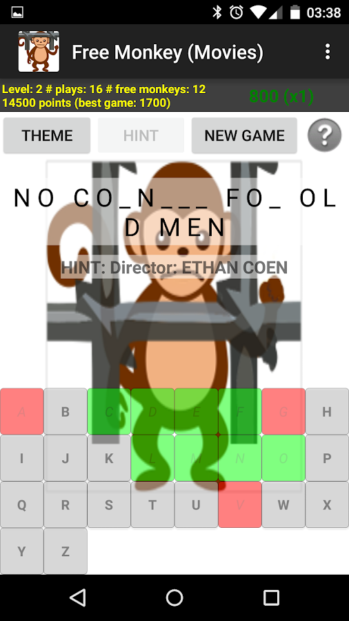 Free Monkey- screenshot