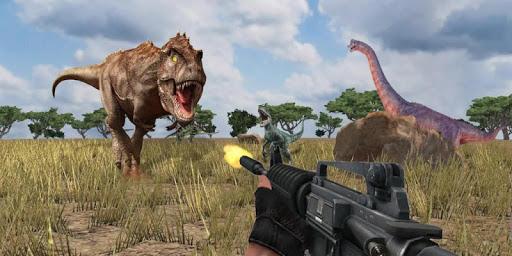 Dino Hunter - Wild Jurassic Hunting Expedition apktram screenshots 3