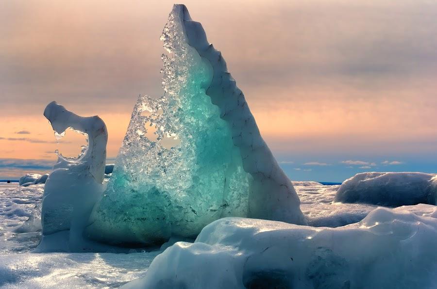 The Last Dragon by Glen Sande - Landscapes Waterscapes ( winter, brighton beach, the last dragon, duluth mn, glen sande )