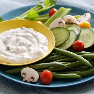 Cucumber-Dill Yogurt Dip.