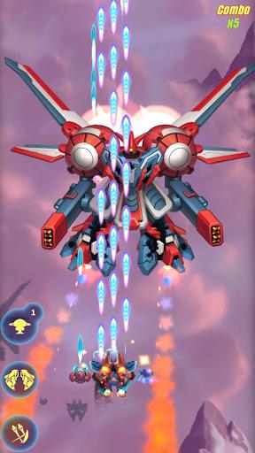 HAWK: Jogo de tiro espacial. Sky force screenshot 7