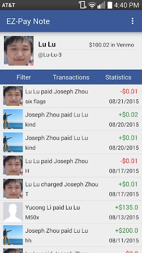 EZ-Pay Note