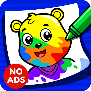 Learning Game Coloring Book For Preschool Kids