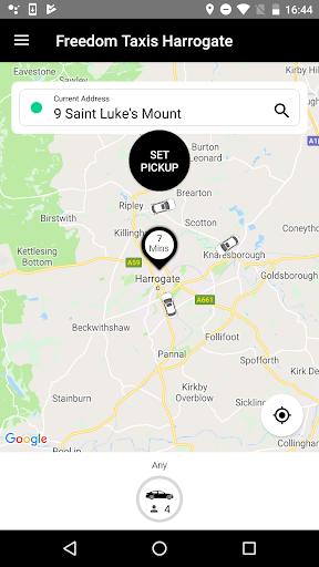 Freedom Taxis Harrogate 31.11.10.156 screenshots 2